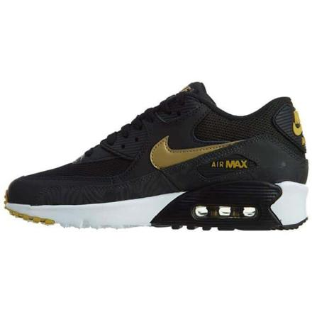 best authentic 80201 37486 Air Max 90 noir et or