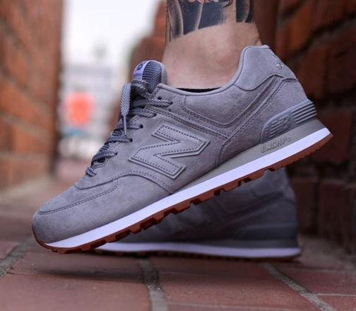 new balance 574 – bordeaux grey